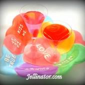 valentine jello shots