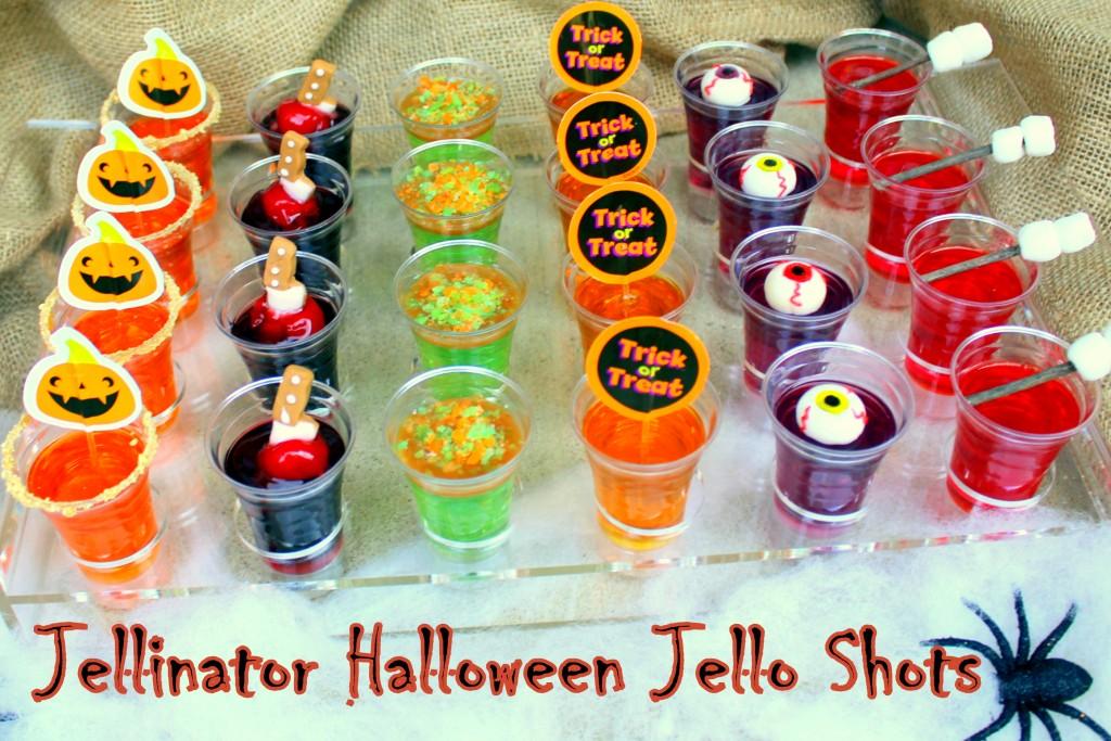 Jellinator Halloween Jello Shots Recipes