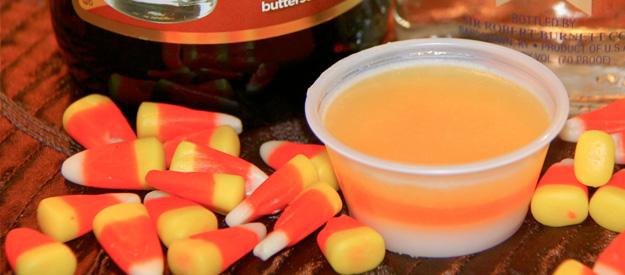 candy corn halloween jello shots - Best Halloween Jello Shots