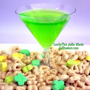 LuckyTini Jello Shots - Jellinator.com