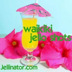 Waikiki Jello shots - Jellinator.com