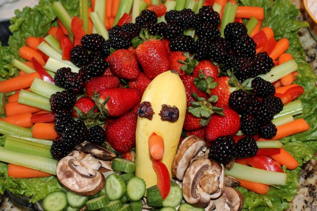 Turkey Veggie Tray - Jellinator.com