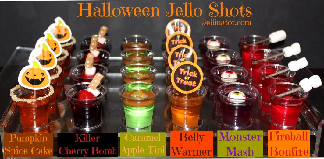 Halloween Jello Cake Recipes