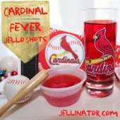 cardinal fever jello shots