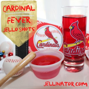 cardinal fever jello shots