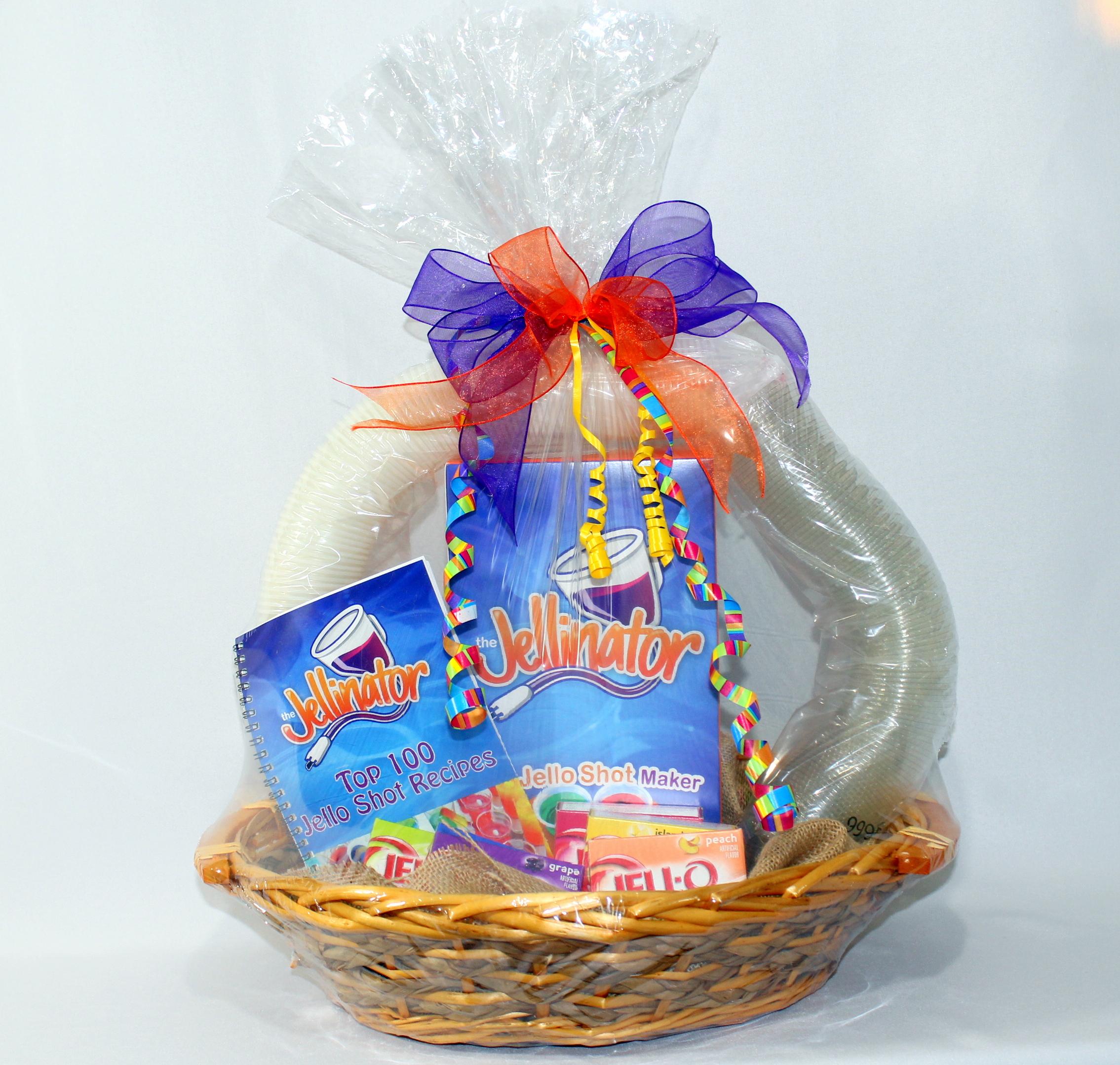 Jellinator Gift Basket Jello Shot 21st Birthday Baskets For Her