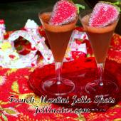 Sparkling French Martini Jello Shots