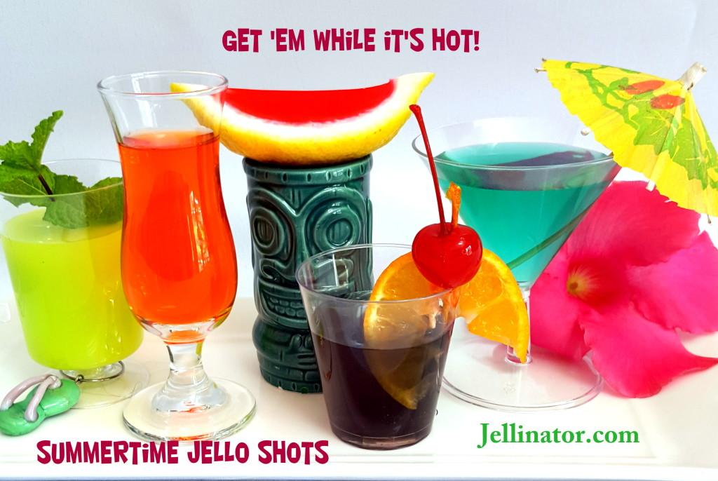 Summer Jello Shot Recipes - Jellinator.com
