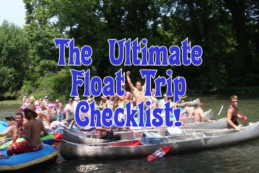 The Ultimate Float Trip Checklist